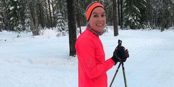 Harkinnanvaraisesti vapaalla -blogi: Mä vaan hiihdän - Lexia