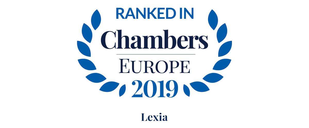 Chambers and Partners rankkasi jälleen Lexian TMT- ja riidanratkaisupraktiikat parhaimpien joukkoon - Lexia